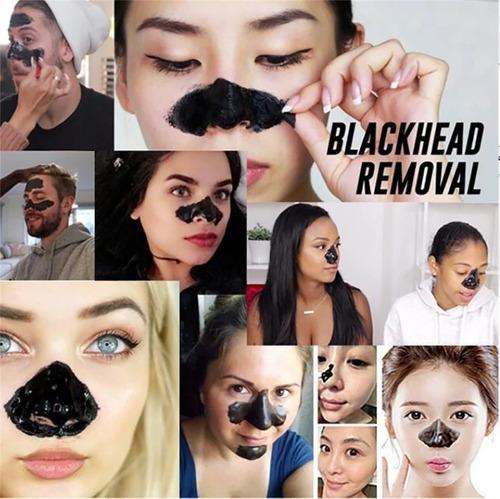 Mascarilla Negra Carbon Puntos Negro Absorbente Facial X 3