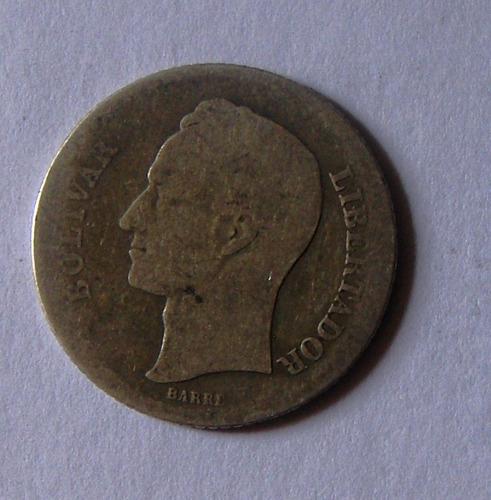 Moneda 1 Bolivar Plata Lei  Gramos Año