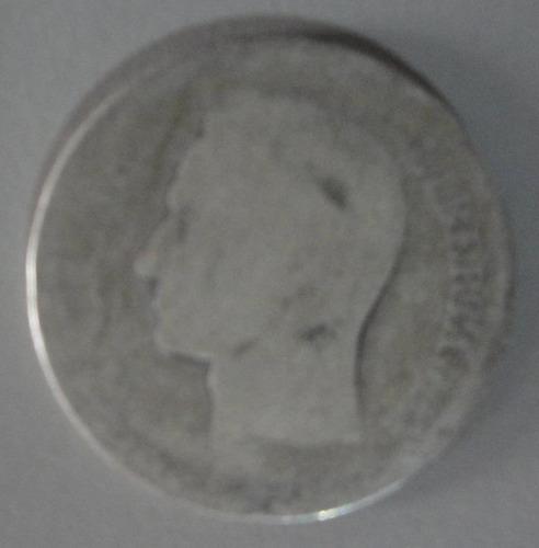 Moneda De 1 Bs. De Plata, Ley 835, Año .