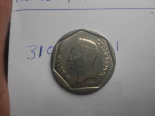Moneda De 500bs Año  Girada Como Esta En La Foto