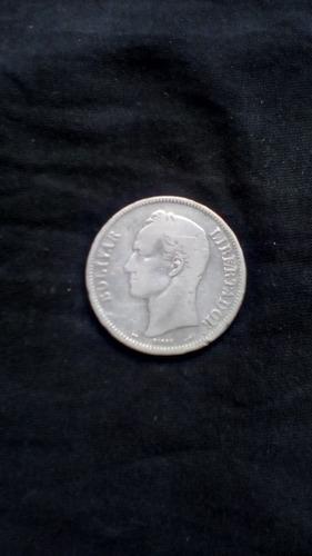 Moneda Fuerte De Plata Lei 900 De 25 Gram Año