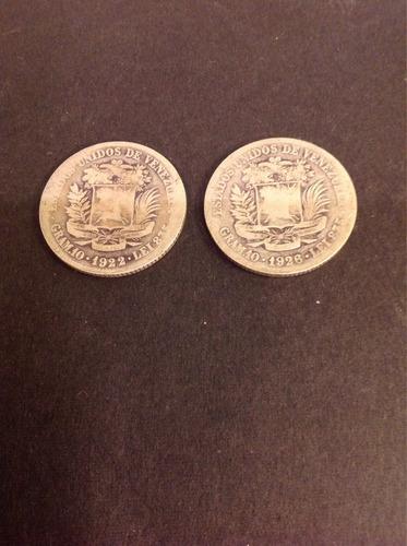 Monedas De 2 Bolívares