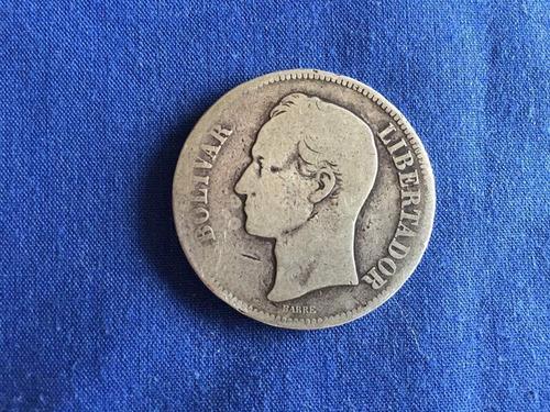 Monedas Venezolanas De Coleccion De Plata.