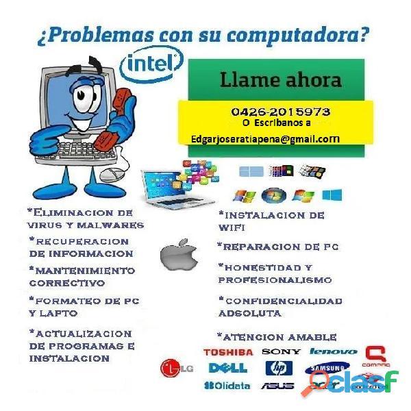 NO LEER NO LEER. SERVICIO TECNIO PARA LAPTOP Y PC DE