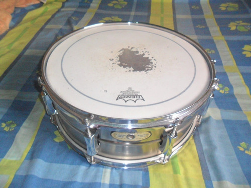 Redoblante Snare Caja Pearl Sensitone Steell Custom