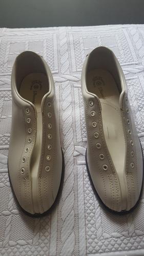 Zapatos Para Bowling Marca Brunswick De Cuero Talla