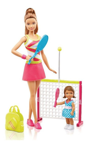 Barbie Profesora Coach Tenis Mattel