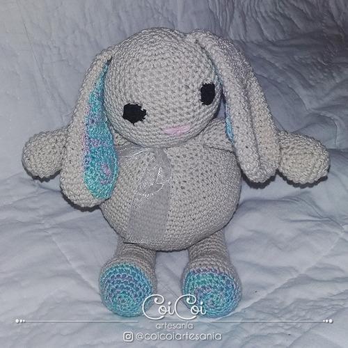 Conejo Amigurumi Tejido En Crochet