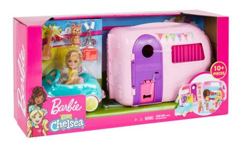 El Camper De Chelsea!!! Original De Mattel