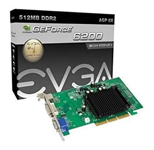 Evga Geforce  Agp 8x 512 Mb Dddr2 Tarjeta Grafica