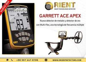 Garrett Ace Apex es un nuevo detector de metales innovador