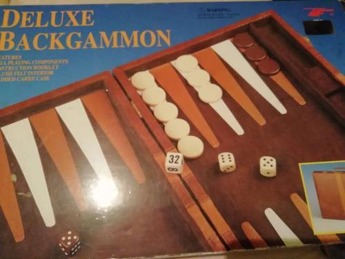 Juego Backgammon Nuevo De Lujo, Nunca Fue Utilizado Remate
