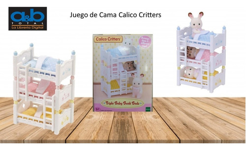 Litera Triple Baby Calico Critters
