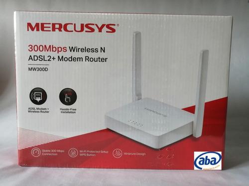 Modem Router Wifi Aba Adsl2 Mercusys Tienda Fisica