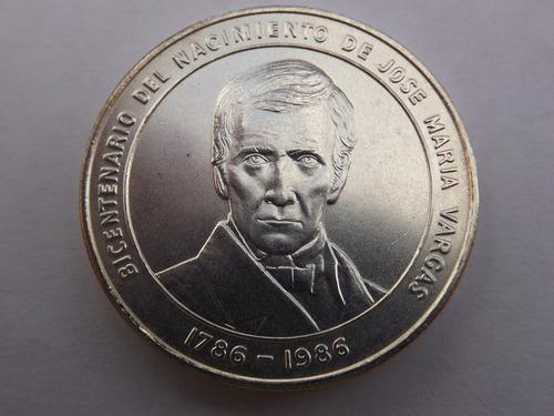 Moneda D Plata 100 Bolívares. José María Vargas