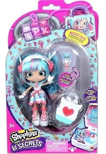 Muñeca Shopkins Shoppies Lil Secrets Jessicake