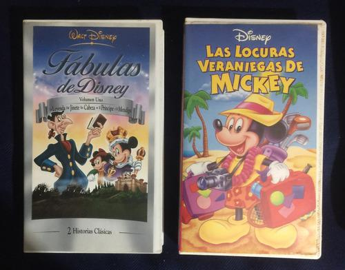 Películas Variadas Disney Originales Vhs Colección Ref. 6
