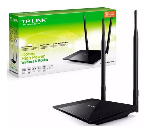 Router Inalambrico Tp-link Wireless Wifi Tl-wr841hp 300mbps