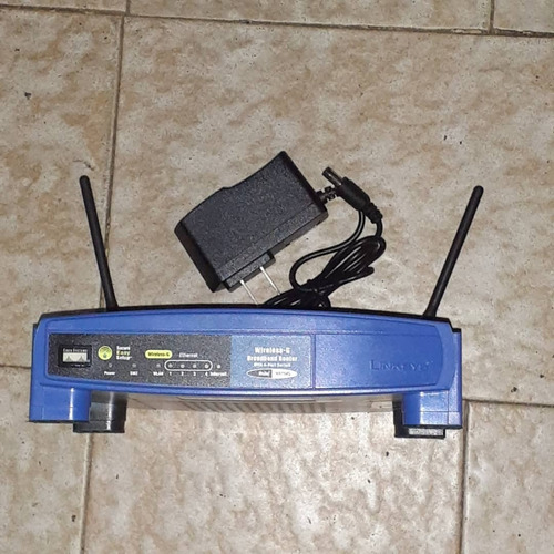 Router Inalámbrico Linksys Wrt54-g Versión 8