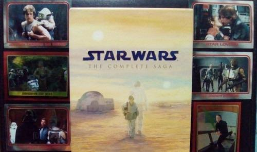Star Wars: The Complete Saga. Blu Ray.original + Obsequio