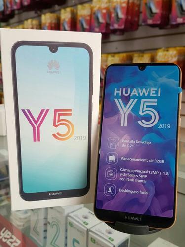 Teléfono Celular Huawei Y5 Y6 Y7 2019 Con Accesorios