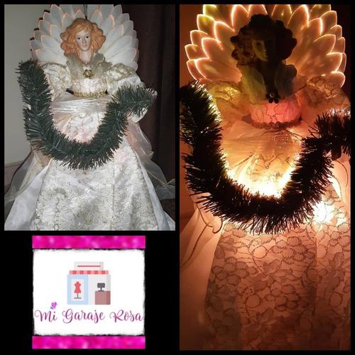 Adornos De Navidad Fibra Óptica
