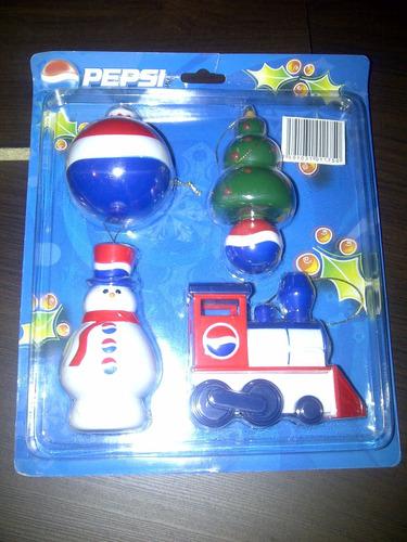 Adornos Navideños Pepsi Coleccionables