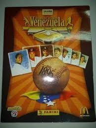 Album Historia Beisbol Venezolano Panini (lleno) Impecable