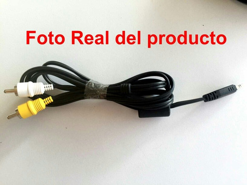 Cable Av Audio Y Video Para Camara Digital Casio 5$