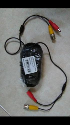 Cable Video Alimentación Para Dvr/cámara 18mt Pregunt