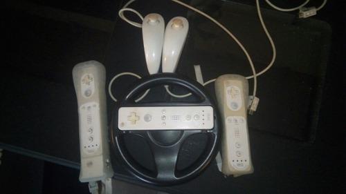 Controles De Wii Originales Con Accesorios, Remato.