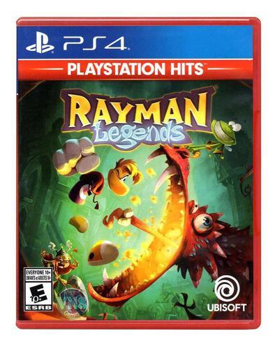 Juego Rayman Legends Para Ps4 Físico Sellado Variedad