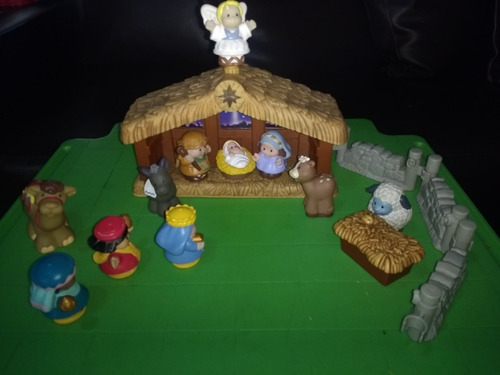Nacimiento. Musical. Little People. De Fisher Price