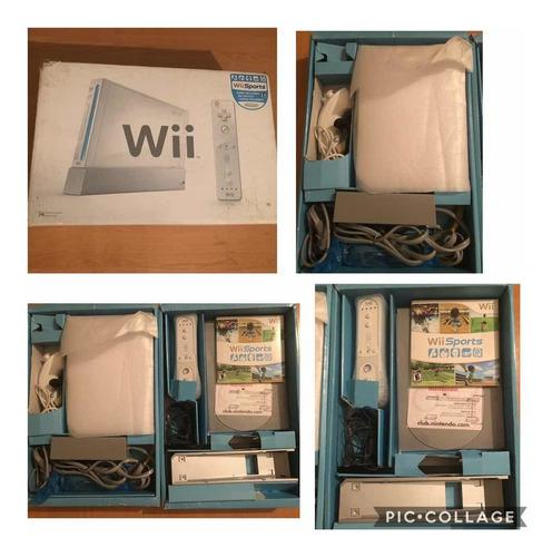 Nintendo Wii, Caja Y Accesorios