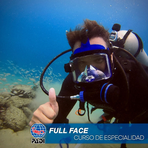 Padi Especialidad Full Face Mask Curso De Buceo