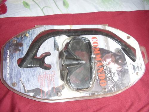 Set De Snorkel Y Mascara Para Práctica De Snorkeling