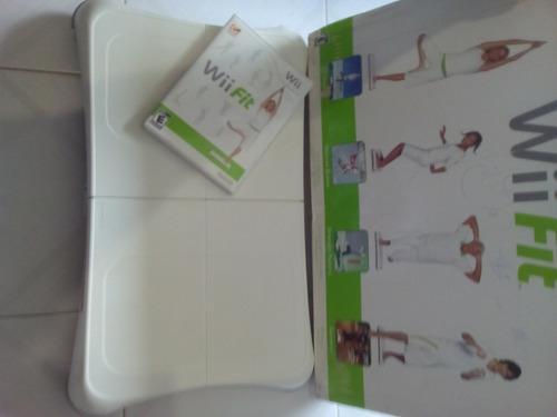 Wii Fit Tabla Mas Juego Original Perfecto Estado