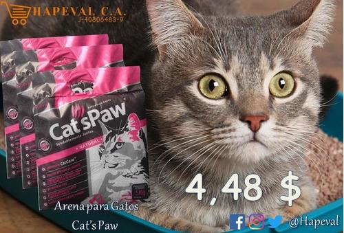 Arena Para Gatos, Cats Paw De 5kg