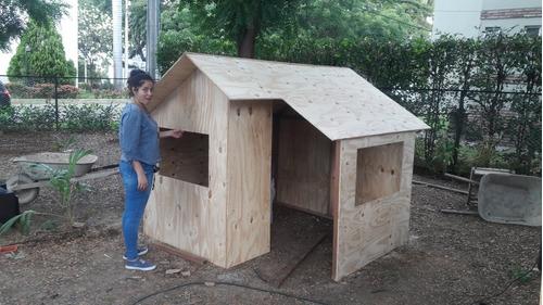 Casas De Juego En Madera, Casas De Árbol, Parque Infantil