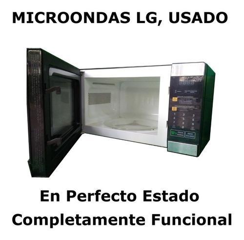 Horno Microondas LG, Usado ¡como Nuevo!