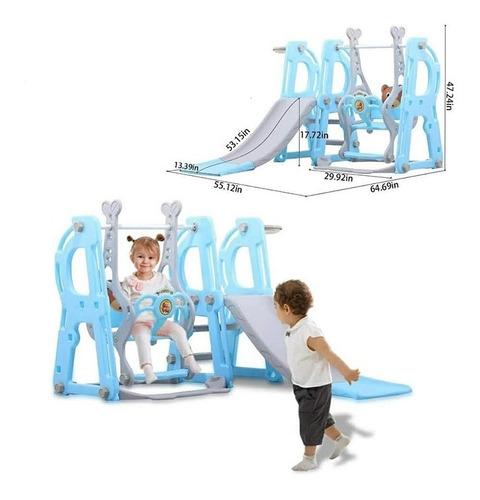 Juego De Escalador Y Columpio 3 En 1 Ideal Para Niños