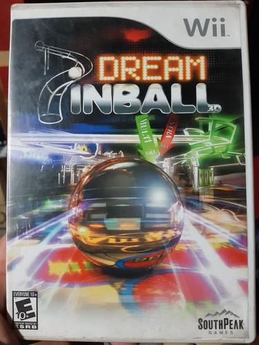 Juego De Wii Original. Dream Pinball