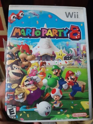 Juego De Wii Original. Mario Party 8