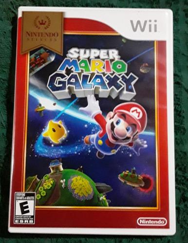 Juego Original Wii Super Mario Galaxy Y Super Mario Bros Wii