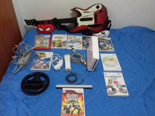 Nintendo Wii Original Con Varios Accesorios
