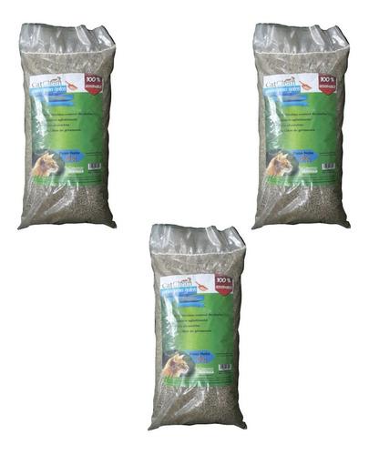 Pack De 3 Unidades De Arena Para Gatos Catclean Premium 4kg
