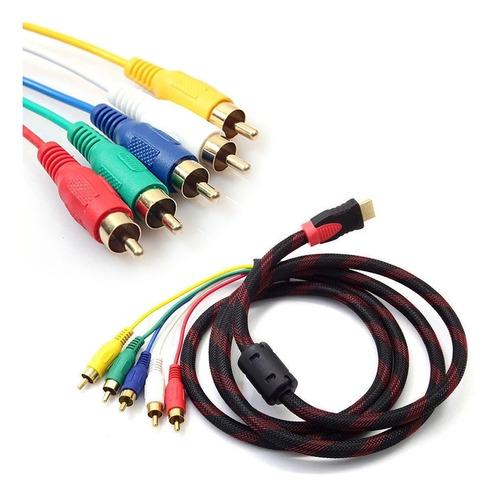 Cable Hdmi Hdtv 5rca 1.5m