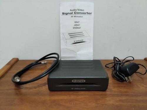 Convertidor De Señal Audio/video Rf Modulador