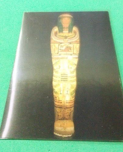 Postal Del Museo Britanico Con Impresión Lenticular Faraon