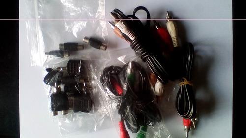 Set De Conectores De Audio